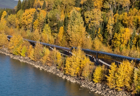 Journey through the Clouds - Vancouver to Jasper Rail Only